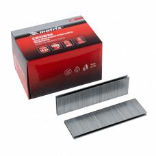 Скобы 18GA для пневматического степлера 1,25х1,0мм длина 38 мм ширина 5,7 мм, 5000 шт. MATRIX 57667 в Алматы