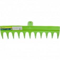 Грабли садовые 11 зубьев без черенка// Сибртех 61736 в Астане
