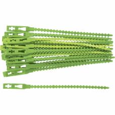 Подвязки для садовых растений 17 см. пластиковые, 50 штук PALISAD 64394 в Алматы