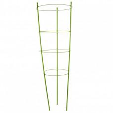 Поддержка для растений круглая h 90 см., металл в пластике, 4 кольца PALISAD 644025 в Алматы