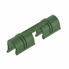 Универсальные зажимы для крепления к каркасу парника d12мм, 20 шт/уп, зеленые PALISAD 64429 в Актау