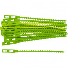 Подвязки для садовых растений, 13 см, пластиковые, 50 шт PALISAD 64494 в Алматы