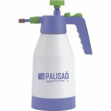 Опрыскиватель ручной, усиленный 1 литр, с насосом, поворотный распылитель, клапан сброса давления PALISAD 64733 в Алматы