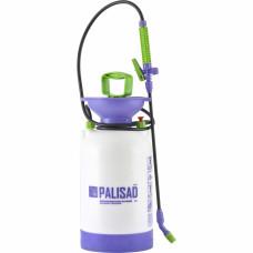 Опрыскиватель ручной усиленный с горловиной 5 литров, с насосом, шлангом и разбрызгивателем PALISAD 64745 в Алматы