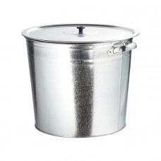 Бак для воды оцинкованный с крышкой (крышка с ручкой) 20л, без крана// Россия 67548 в Алматы