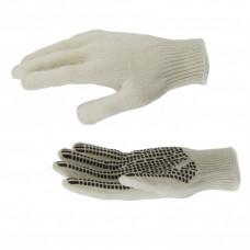 Перчатки трикотажные, рисунок ПВХ гель