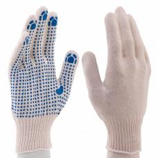 Перчатки х/б, ПВХ-покрытие