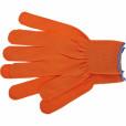 Перчатки нейлон, 13 класс, оранжевые, XL// Россия 67840