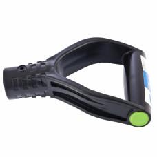 Усиленная V-образная рукоятка (черная) для снеговых лопат, d-32 // СИБРТЕХ Россия 68439 в Алматы