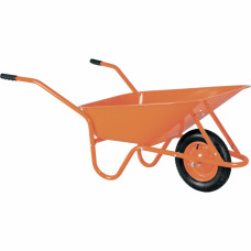Тачка садово-строительная ТСО-02, крашенный кузов, пневмоколесо, грузоподъемность 120 кг, объем 90 л. РОССИЯ 68908 в Алматы