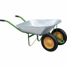 Тачка садовая, два колеса, грузоподъемность 170 кг, объем 78 литров PALISAD 689223 в Алматы