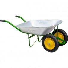 Тачка садовая, два колеса, грузоподъемность 160 кг, объем 78 л PALISAD 68922 в Алматы