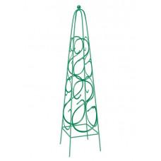 Пирамида садовая декоративная для вьющихся растений, 112,5 х 23 см, квадратная// PALISAD 69126 в Алматы