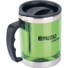 Термокружка с крышкой-поилкой в пластиковом корпусе, 300 мл PALISAD Camping 69531 в Алматы