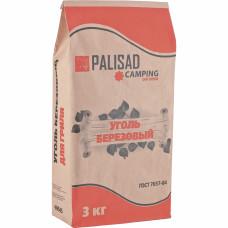 Уголь берёзовый, 3 кг PALISAD Camping Россия 69545 в Алматы