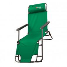 Кресло-шезлонг двухпозиционное 156*60*82cm PALISAD Camping 69587 в Алматы
