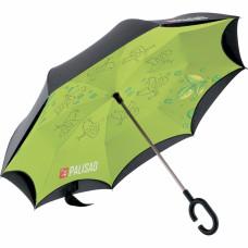 Зонт-трость обратного сложения, эргономичная рукоятка с покрытием Soft ToucH. PALISAD 69700 в Алматы