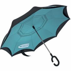 Зонт-трость обратного сложения, эргономичная рукоятка с покрытием Soft ToucH. GROSS 69701 в Алматы