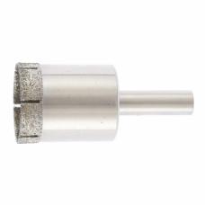 Сверло по стеклу и керамической плитке, 20 х 55 мм, цилиндр. хв. СИБРТЕХ 726207 в Алматы