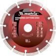 Диск алмазный отрезной 115 х 22,2 мм MATRIX Professional 73172