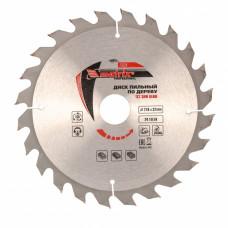Пильный диск по дереву, 210 х 32мм, 24 зуба + кольцо 30/32 MATRIX Professional 73224 в Алматы