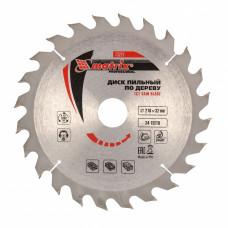 Пильный диск по дереву, 216 х 32мм, 24 зуба + кольцо 30/32 MATRIX Professional 73227 в Алматы
