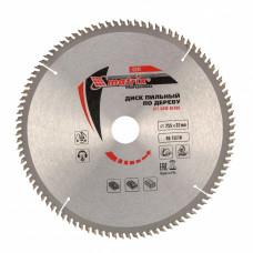 Пильный диск по дереву, 255 х 32мм, 96 зубьев + кольцо 30/32 MATRIX Professional 73245 в Алматы