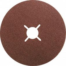 Круги фибровые 5 шт, Р 80, 115 х 22 mm. Matrix 73904 в Алматы