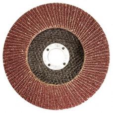 Круг лепестковый торцевой КЛТ-2, зернистость Р 80, 125 х 22,2 мм 740857 в Алматы