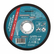 Круг отрезной по металлу, 125 х 1,2 х 22 мм // GROSS 74369 в Алматы
