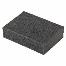 Губка для шлифования, 100 х 70 х 25 мм., мягкая, P80 MATRIX 75702 в Алматы