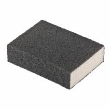 Губка для шлифования, 100 х 70 х 25 мм., средняя плотность, P80 MATRIX 75713 в Алматы