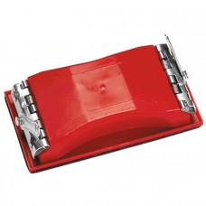 Брусок для шлифования, 210 х 105 мм, пластиковый с зажимами MATRIX 75830 в Алматы