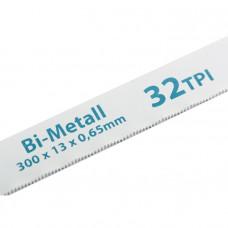 Полотна для ножовки по металлу, 300 мм, 32TPI, BiM, 2 шт. GROSS 77728 в Алматы