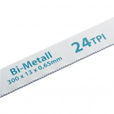 Полотна для ножовки по металлу, 300 мм, 24TPI, BIM, 2 шт. GROSS 77729 в Алматы