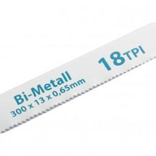 Полотна для ножовки по металлу, 300 мм, 18TPI, BIM, 2 шт. GROSS 77730 в Алматы