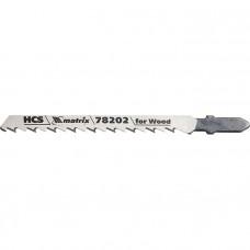 Полотна для электролобзика по дереву, 3 шт. T101D, 75 х 4,0мм, HCS MATRIX Professional 78202 в Алматы