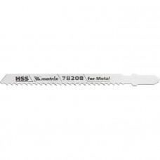 Полотна для электролобзика по металлу, 3 шт. T127D, 75 х 3мм, HSS MATRIX Professional 78208 в Алматы