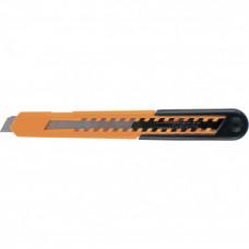 Нож, 9 мм, выдвижное лезвие, пластиковый усиленный корпус SPARTA 78906 в Алматы