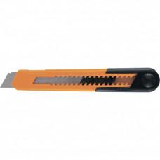 Нож, 18 мм, выдвижное лезвие, пластиковый усиленный корпус SPARTA 78907 в Алматы
