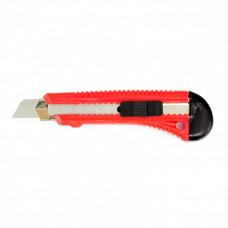 Нож, 18 мм, выдвижное лезвие, металлическая направляющая MATRIX 78918 в Алматы