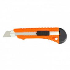 Нож,18 мм, выдвижное лезвие, металлическая направляющая SPARTA 78973 в Алматы