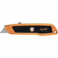 Нож, 18 мм, выдвижное трапециевидное лезвие, двухкомпонентный корпус SPARTA 78978 в Алматы