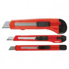 Набор ножей, выдвижные лезвия, 9-9-18 мм, 3 шт. MATRIX 78985 в Алматы