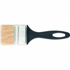 Кисть флейцевая 50*6, пластиковая ручка, стандарт СИБРТЕХ 82504 в Алматы