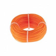 Леска строительная, 100 метров, D 1 мм, цвет оранжевый Сибртех 84838 в Алматы