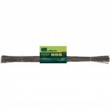 Проволока стальная в прутках 400мм/100шт, вязальная, термообработанная 0,9 мм // Сибртех 84914 в Алматы