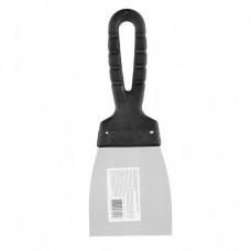 Шпательная лопатка из нержавеющей стали, 80 мм, пластмассовая ручка Россия 85134 в Алматы