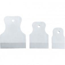 Набор шпателей 40-60-80 мм, белая резина, 3 шт. Россия 858275 в Алматы
