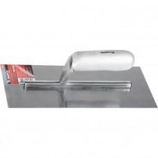 Гладилка стальная, 280 х 130 мм, зеркальная полировка, деревянная ручка MATRIX 86732 в Алматы